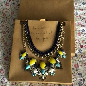 Limoncello Statement Necklace Set
